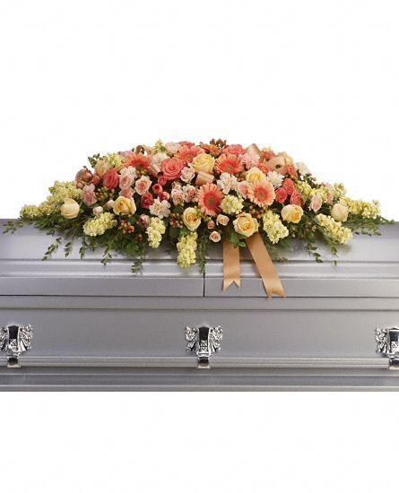 Coffin & Flowers