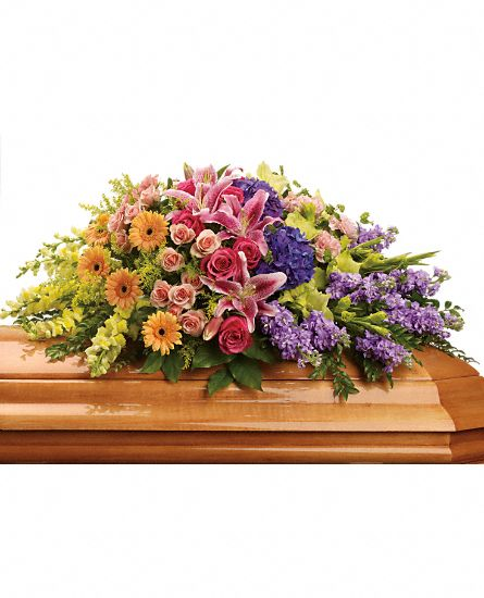 Coffin & Flowers